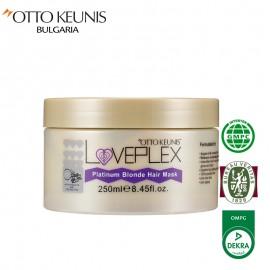 LOVEPLEX Platinum Blonde маска за коса 250 мл.