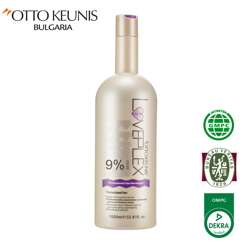 LOVEPLEX  Platinum Blonde Doveloper 9% за професионална употреба 1000 мл.
